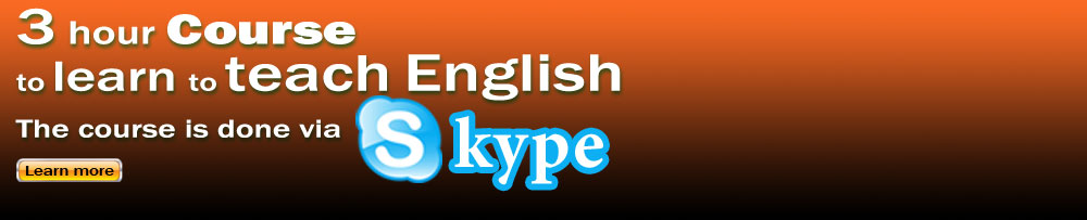 Learn to teach English course